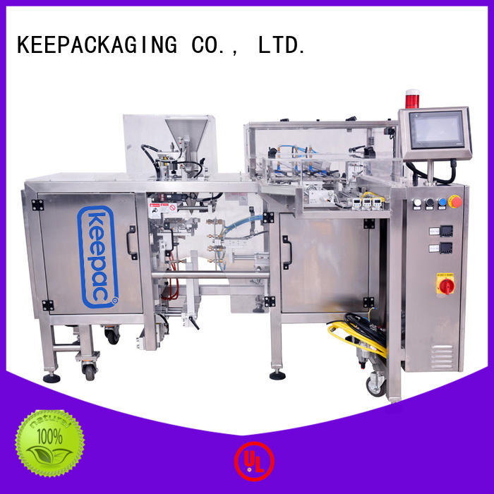 Keepac multi bag format automatic grain packing machine company for food