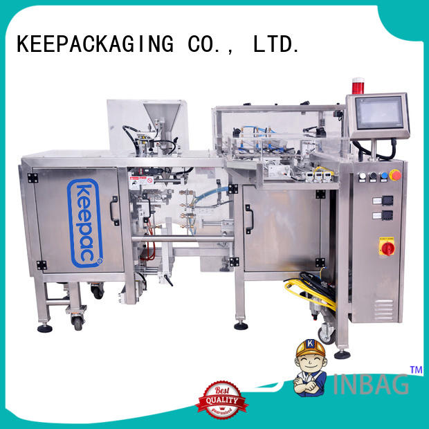 Keepac efficient small food packaging machine wholesale for pre-openned zipper pouch