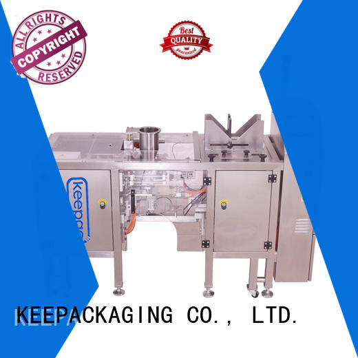Keepac quick release snack food packaging machine customized for food