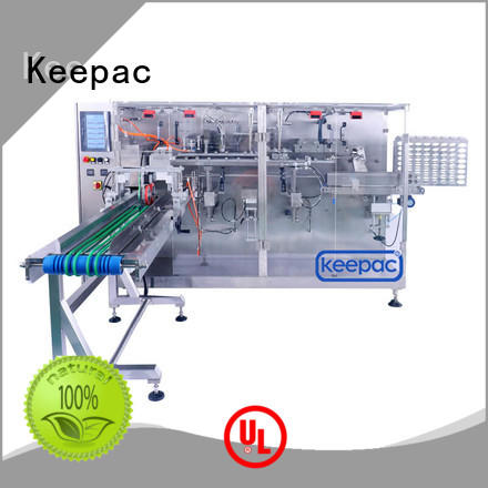 durable horizontal packaging machine staight flow design factory for commodity