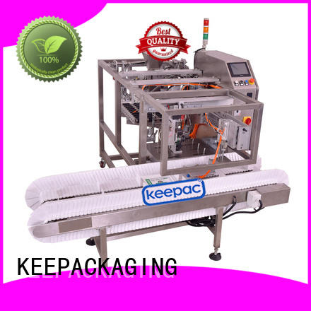 Keepac different sized grain packing machine manufacturing for pre-openned zipper pouch