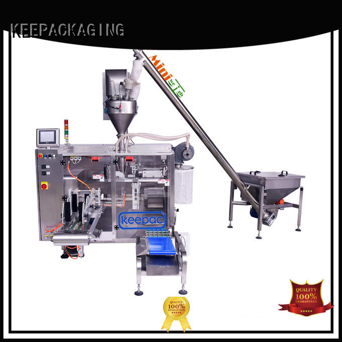 Keepac staight flow design pick fill seal machine supplier for food
