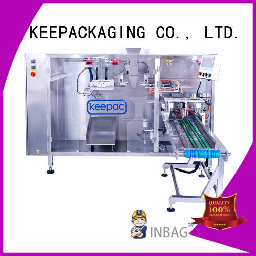 New liquid pouch packing machine 8 inches company for standup bag