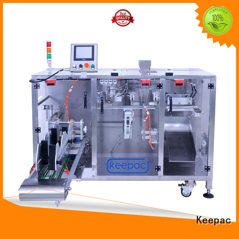 Keepac linear powder pouch packing machine supplier for food