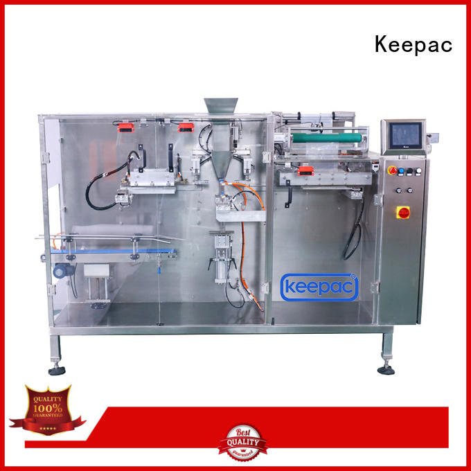 easy adjustable packaging machine design customized Keepac