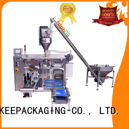 efficient powder packing machine linear design for food