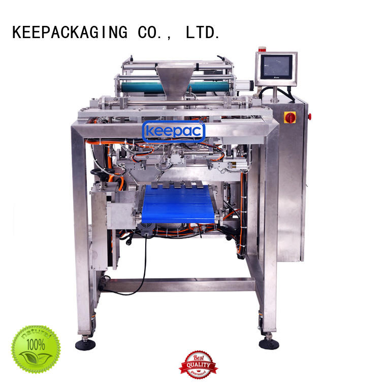 Keepac good quality auto packaging machine factory direct for zipper bag