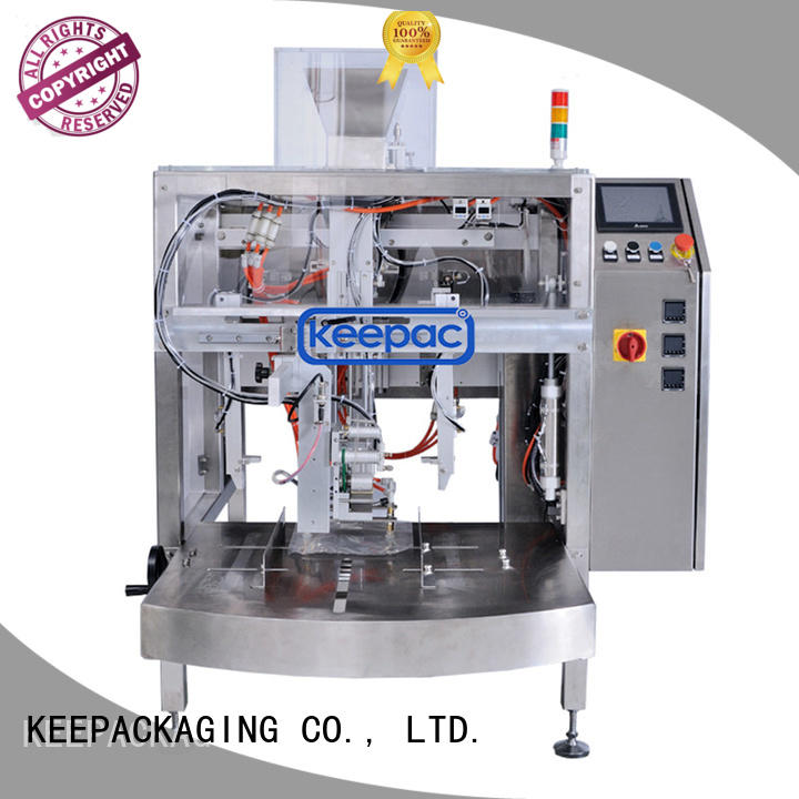 Keepac stainless steel 304 grain packing machine manufacturing for beverage