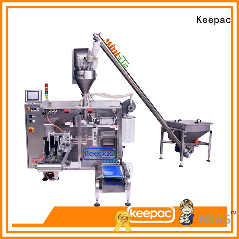 Keepac convenient seal packing machine design for standup pouch