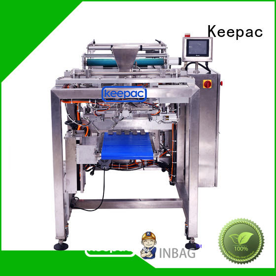 Keepac convenient auto packaging machine customized for zipper bag