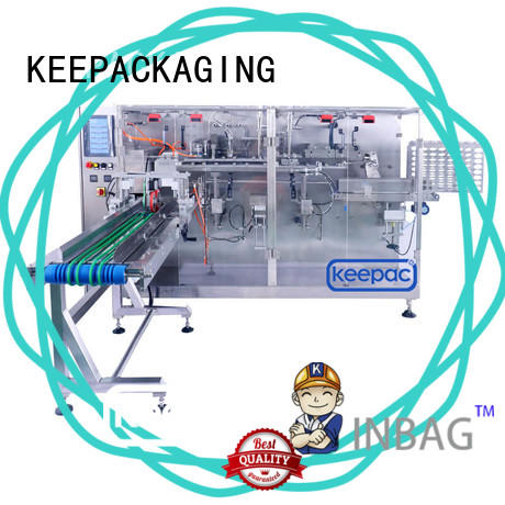 Keepac automatic horizontal packaging machine factory for beverage