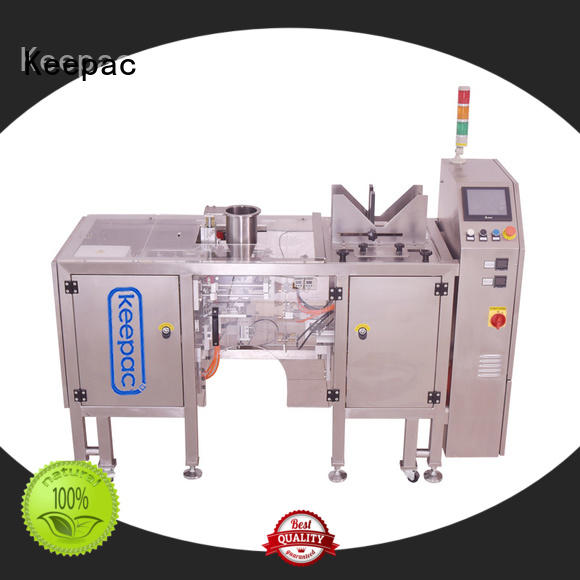 Keepac New automatic grain packing machine Suppliers for pre-openned zipper pouch