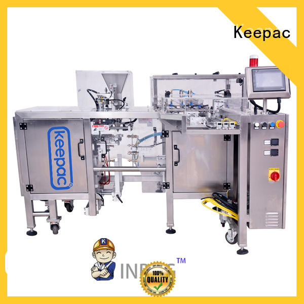 mini grain packing machine factory direct for pre-openned zipper pouch Keepac