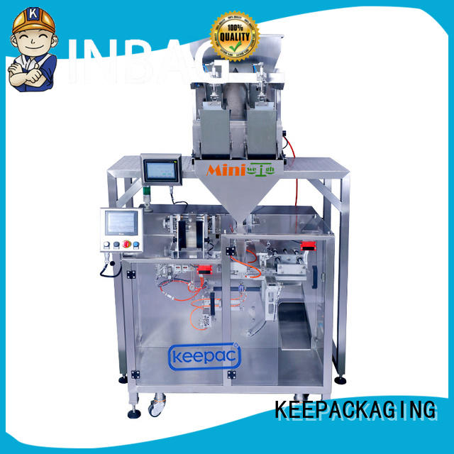 convenient potato chips packing machine supplier for zipper bag Keepac