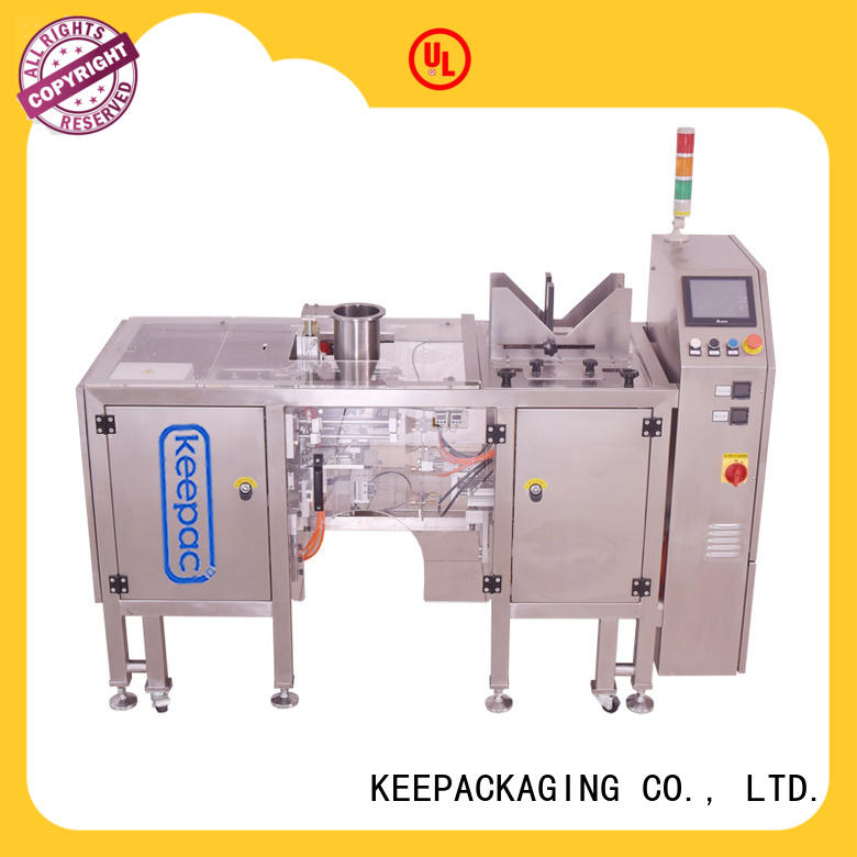 Keepac mini automatic grain packing machine customized for beverage
