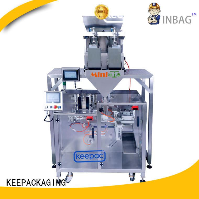 Keepac Custom seal packing machine manufacturers for zipper bag