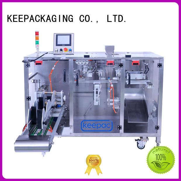 efficient powder pouch packing machine wholesale for zipper bag