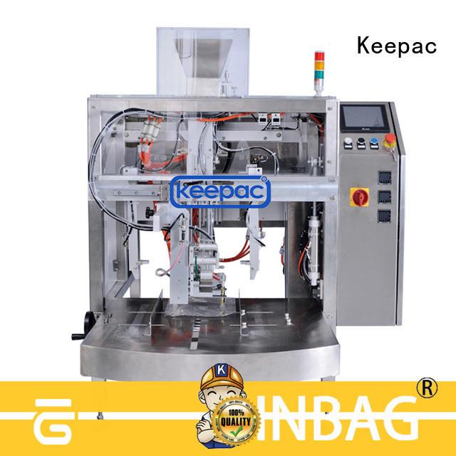mini doypack packaging machine stainless steel 304 for beverage Keepac