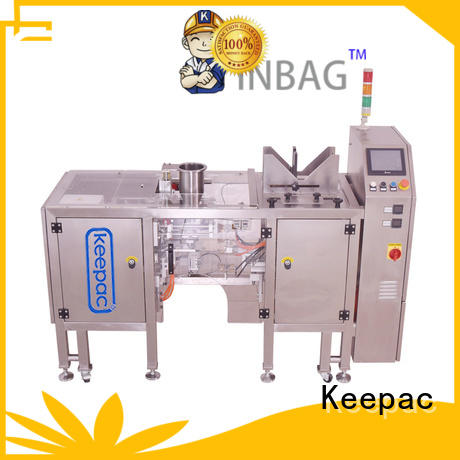 Keepac adjustable grain packing machine manufacturing for pre-openned zipper pouch