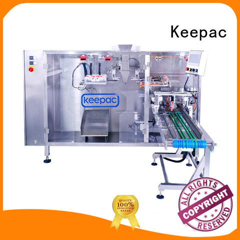 cost-effective poly pouch packing machine design for standup bag Keepac