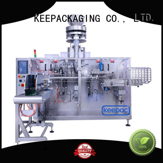 Keepac linear horizontal packaging machine manufacturers for beverage