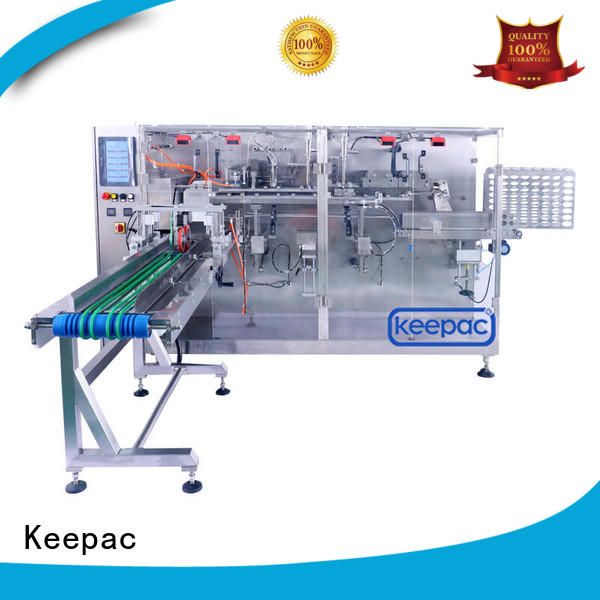 Keepac Brand pouch volume filler horizontal packing machine