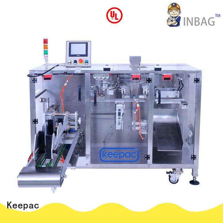 Keepac professional form fill seal machine manufacturer for zipper bag