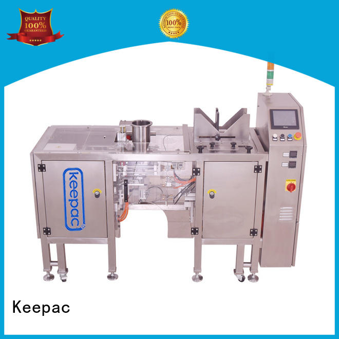 Keepac mini food packaging machine factory direct for pre-openned zipper pouch