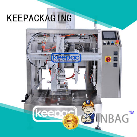 Keepac good price chips packaging machine wholesale for beverage